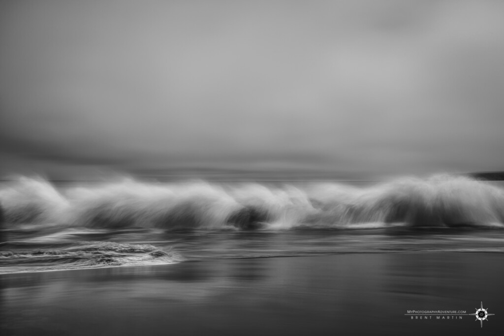 Top Image #2 - Blurry Day at Drake's Bay. ICM motion blur of the waves at Drake's Bay, Point Reyes, California.